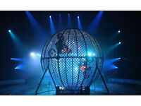 Two tickets to Circus Zyair with popcorn - Merry Hill - 24th @ 11am