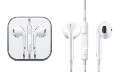 For iphone Earphones Earbuds Headphon Mic Remote iPhone 4 5 6 6S iPad Plus iPod