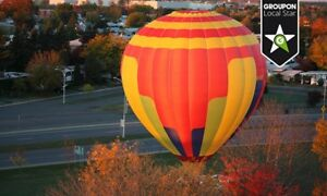 "$200 for a ""magic"" hot air balloon flight package for two"