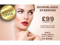 MICROBLADING IN ESSEX JUST £99