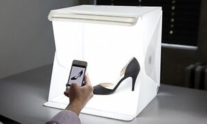 Portable Photo Box with LED Lights