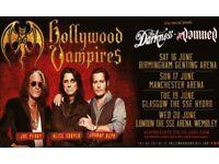Hollywood Vampires - 2 Club Hydro Tickets