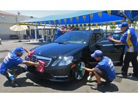 car wash staff needed good pay good tips full time/part time
