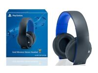 Official Sony Wireless Stereo Headset 2.0 - PS4/PS3 Boxed Like new