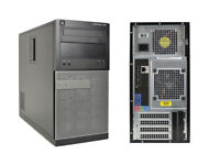 Fast Gaming PC Dell i5-2400/3.4GHz turbo,6GB RAM,GTX750 1GB,2000GB HDD,Win10pro,DVDRW