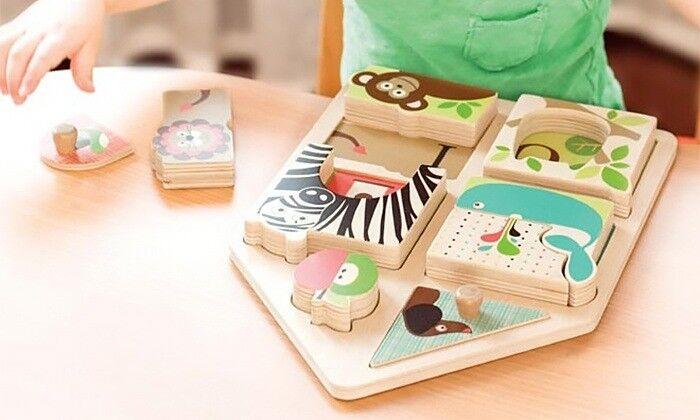 Skip-Hop's Alphabet Zoo Matching Game (NEW)