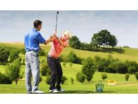 3 x 30 minute golf lessons cardiff