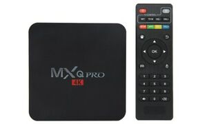 Android TV Box - MxQ Pro 4K - Android 7.1-  TVMC=Kodi 17.3 -New