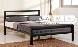 **LIMITED EDITION** BRAND NEW 4ft6 Double/4ft Small Double Metal Bed Frame with Choice of Mattress