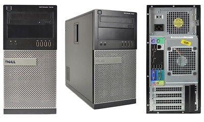 Dell OptiPlex 7010 Tower PC(500GB, Intel Core i7-3.4GHz, 8GB) Win 10 Pro
