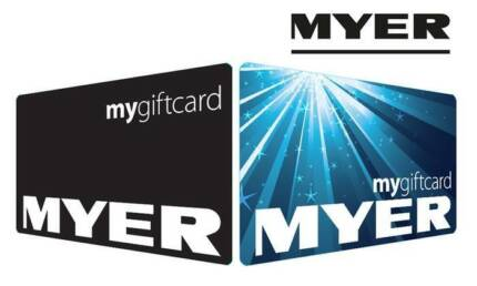 Myer gift card gumtree australia free local classifieds myers gift cards for sale or swap negle Image collections