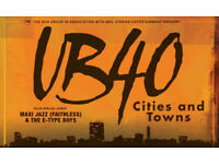UB40 standing tickets for 13th December at Brighton Centre