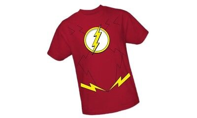 DC Comics The Flash Costume T-SHIRT](The Flash Girl Costume)