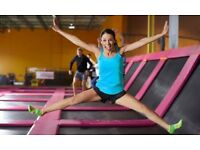 Trampoline Fitness Fundraiser