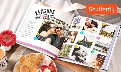 Shutterfly 8x8 Hard Cover Photo Book Code Expires Sept 30 NEW CUSTOMERS ONLY