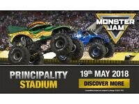 3 monster jam tickets