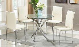 BNIB Dining Table & 4 Chairs