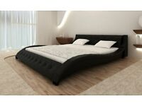 Luxurious design top quality leather bed + FREE extras !! Save £360!