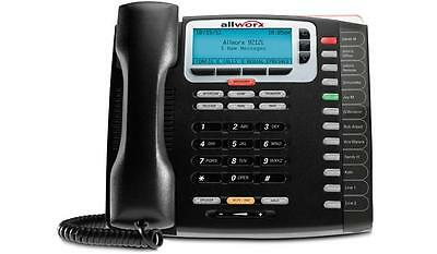 Lot Of 10 Refurbished Allworx 9212l Ip Backlit Display Phone Black 8110061