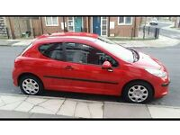 Peugeot 207 for sale. Cheap insurance, road tax. Viewers welcome