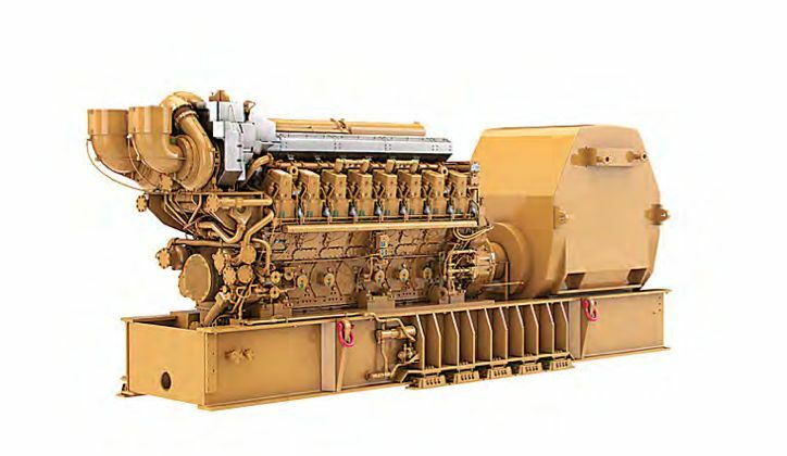 NEW Caterpillar C-280 5200KW (7 Units) total (5.2MW) Generator