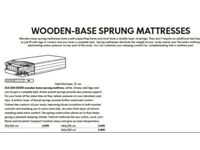Brand New IKEA 160 x 200 bed base with built in Pocket Sprung mattress