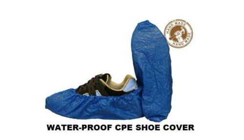 100x SHOE COVER CPE MATERIAL HEAVY DUTY - WATER PROOF CARPET CLEANING