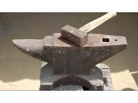 WANTED...... Anvil, plus other blacksmith tools.