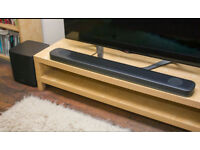 LG SJ9 soundbar Dolby Atmos, 2 weeks old + wireless subwoofer