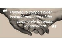 Social isolation companion carer available - part time hours required