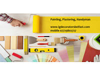 Experienced Painter , Plasterer , Handyman. Painting , Plastering in Belfast