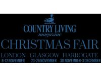 Country Living Christmas Fair tickets x 2, London event