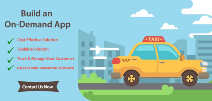 On Demand Taxi App Builders - Get Your Taxi Booking Apps Now