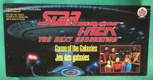 Star Trek TNG - Game of the Galaxies Board Game- Incomplete