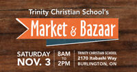 Fall Market & Bazaar, Trinity Christian School Nov. 3rd!