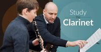Clarinet Lessons for any age/any experience level