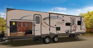 2014 Prime Time LaCrosse 318BHS Bunkhouse Travel Trailer