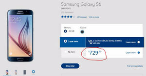 New Galaxy S6 Smartphone. Unopened. Save over $330!!! - $485