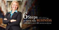 6 Steps to Grow any Business: Tuesday September 1st