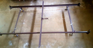 Metal bed frame - queen/ double xl/ twin xl