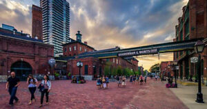 Call the Distillery District Home!