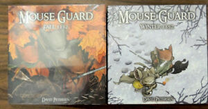 Mouse Guard Fall 1152 and Winter 1152 First Edition NEW Each