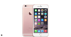 Rose gold iPhone 6 s - Bell