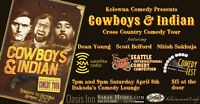 Cowboys & Indian Comedy Tour