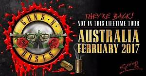 Guns N' Roses Tour - 2 Tickets Capital Hill South Canberra Preview