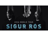 4 Sigur Ros Edinburgh Playhouse Tickets 15th August