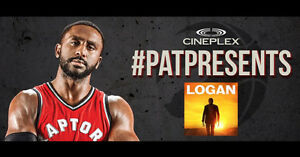 Two Voucher of ‪#PatPresents  - Logan with Cineplex