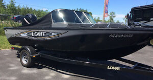 2014 LOWE FS 175 - 90 HP Mercury 4 Stroke