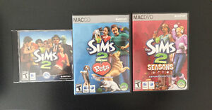 SIMS2 for Mac - expansions included