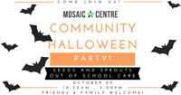 The Mosaic Centre's Community Halloween Party